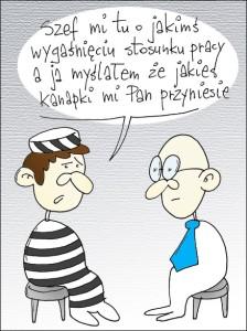 wygaśnięcie umowy - aresztowanie