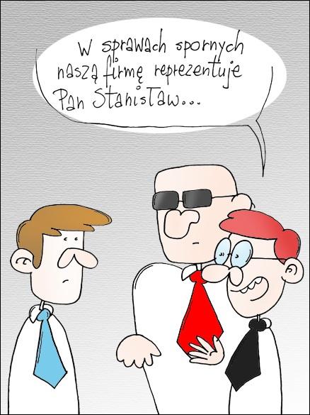 Reprezentacja społki z o.o