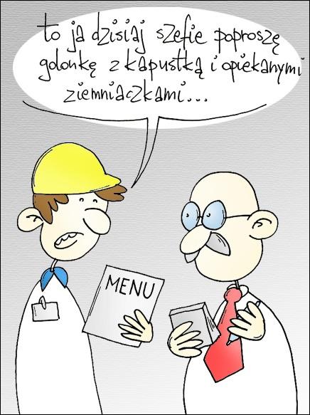 Posiłki regeneracyjne dla pracowników w zimie